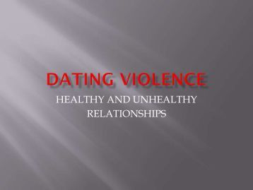 Dating violence florida in Perth