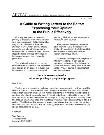Formal letter format to editor how to write a letter to the editor for a school project expocarfo Image collections