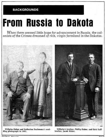 From Russia to Dakota