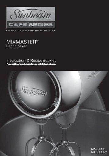 Manual (pdf) - Sunbeam