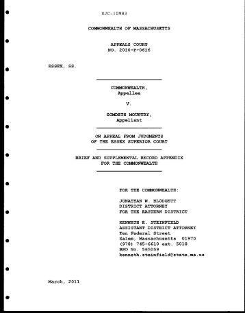 case brief of the commonwealth v pestinikas Commonwealth of pennsylvania v flamer case no rap about the case appellant's brief, at about the case see see commonwealth v pestinikas.