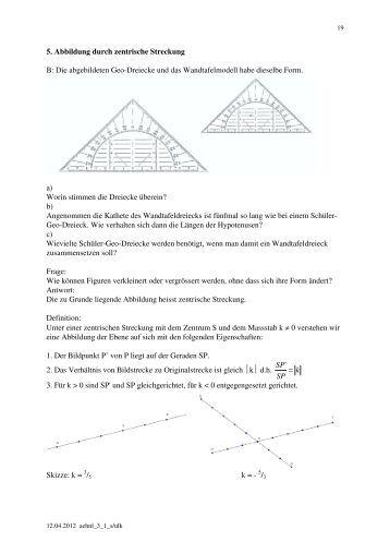 Ubungsaufgaben mathe