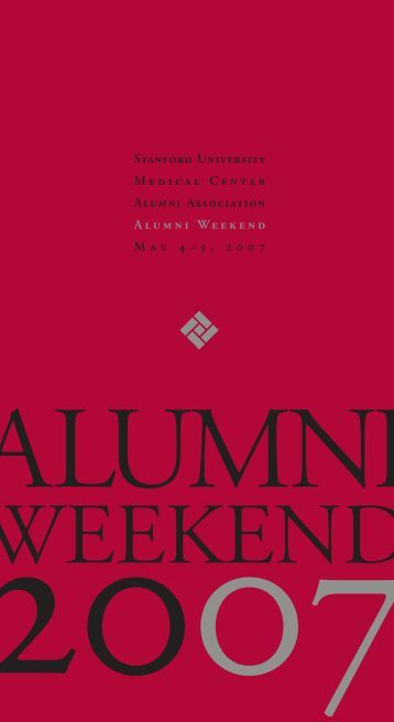 Stanford University Medical Center Alumni Association Alumni ...