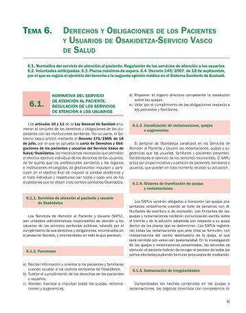 TEMA 6. DERECHOS Y OBLIGACIONES DE LOS ... - Axon
