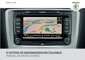 El SISTEMA DE RADIONAVEGACIÓN COLUMBUS MANUAL DE ...