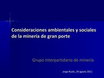 minería de gran porte - Portal del Estado Uruguayo