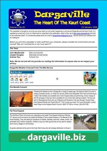 Dargaville - Heart of the Kauri Coast! - Dargaville.BIZ