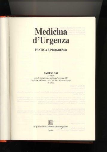 Copertine testi - Facoltà di Medicina e Chirurgia