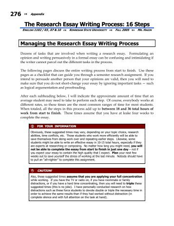 What is a Research Paper? - Online Writing Center