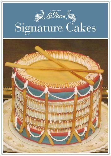 Signature Cakes - La Glace