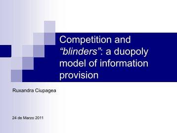 Competencia e información en el mercado de telefonía - Blog CMT