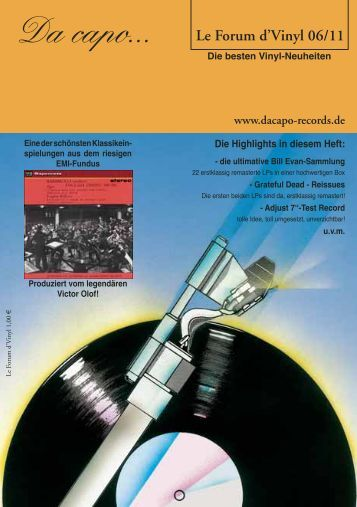 Le Forum 06/2011 - Da capo