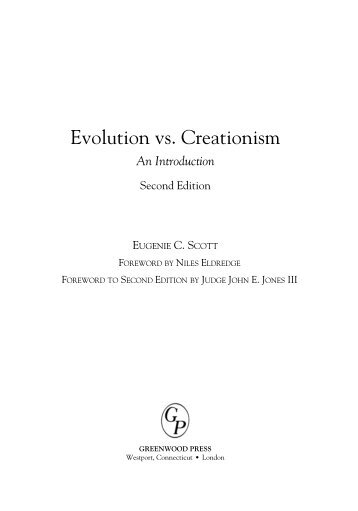 Creation Versus Evolution - Clarifying Christianity