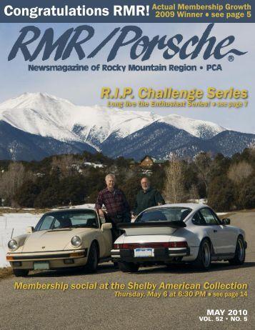 Congratulations RMR! - Rocky Mountain Region Porsche Club ...