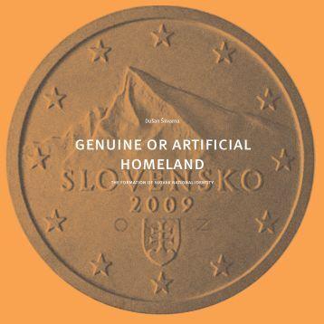 genuine or artificial homeland - Autoportret