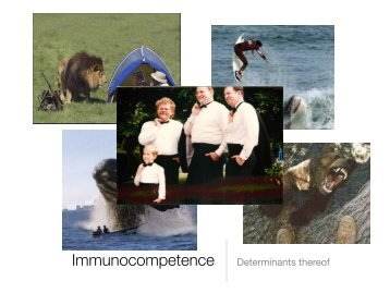 Immunocompetence Determinants thereof - Apple