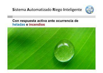 Sistema Automatizado Riego Inteligente