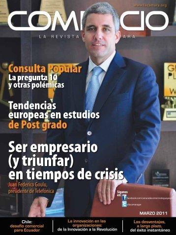 Revistamarzo.pdf - Cámara de Comercio de Guayaquil