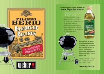 Weber Barbecue Recipe Booklet WEB - Citalia
