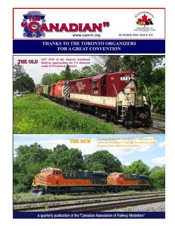 Download PDF Newsletter - Canadian Association of Railway ...
