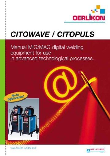 CITOWAVE-CITOPULS Brochure - Oerlikon
