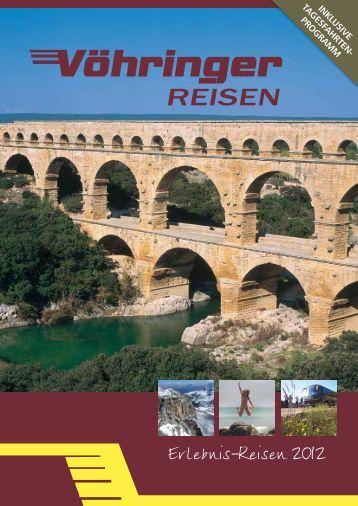 Erlebnis-Reisen 2012