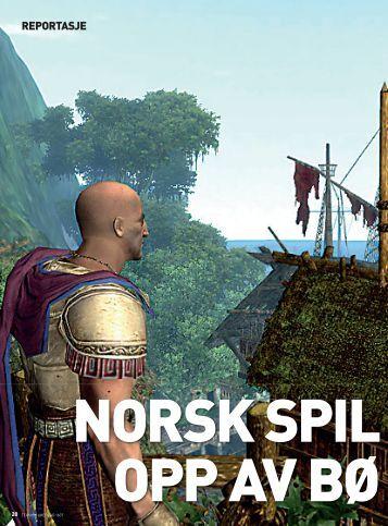 Norsk spillindustri opp av bølgedalen - NTNU