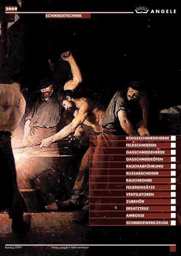 ANGELE SCHMIEDETECHNIK Katalog 2009
