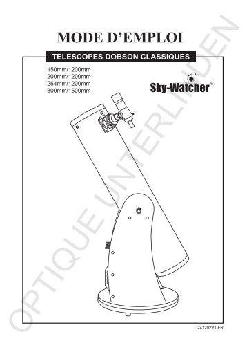 Mode d 39 emploi sky watcher telescope - Galerie mode d emploi ...