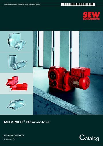 nord geared motor catalogue pdf
