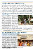 Projektarbeit in Indien und Bangladesch - Andheri-Hilfe Bonn - Seite 4