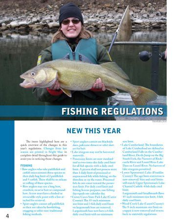 Sport fishing regulations oregon department of fish and for Fish and wildlife ky