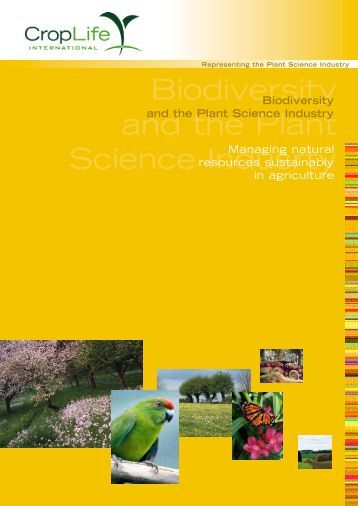 Biodiversity - Managing natural resources sustainably
