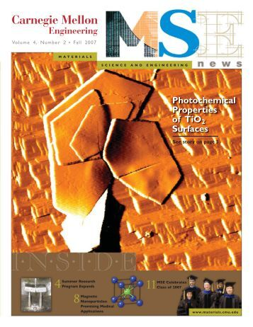 CMU News (Page 2) - Materials Science and Engineering ...
