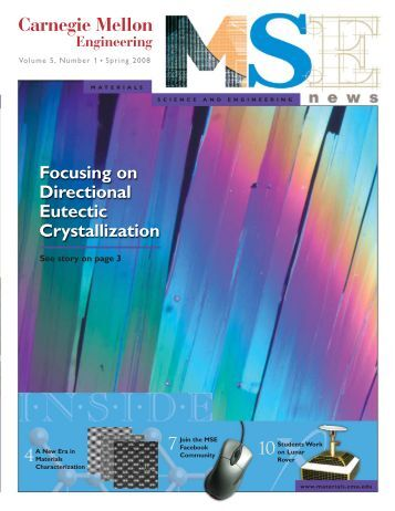 MSE News (Page 2) - Materials Science and Engineering ...