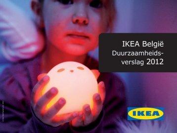 Duurzaamheidsrapport 2012 - Ikea