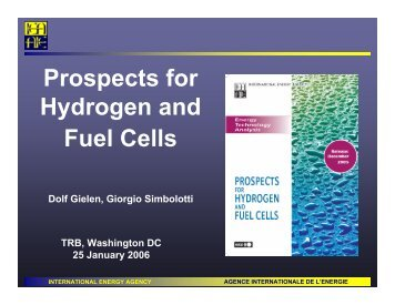 Prospects for Hydrogen and Fuel Cells - Center for Transportation ...