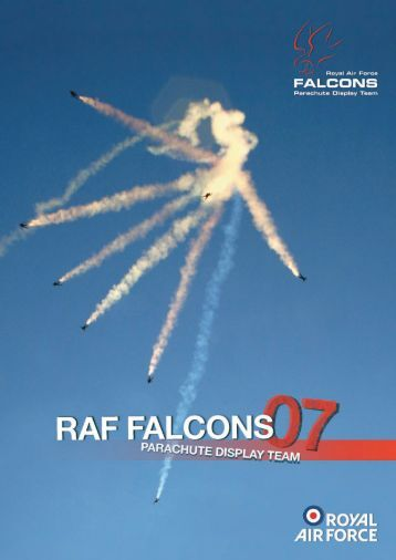 18. history of the raf falcons - Royal Air Force