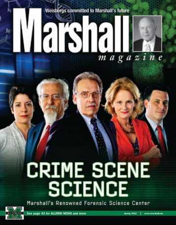 Cover Story - Marshall University Forensic Science Center