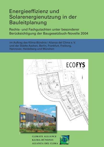 Energieeffizienz und Solarenergienutzung in der ... - Die Linke