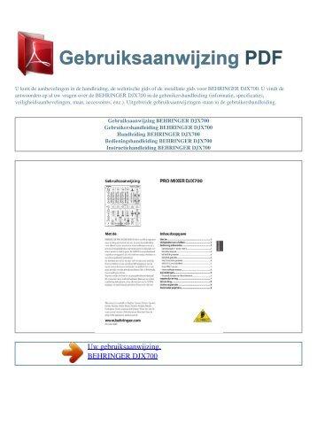 Idca 735 eco gebruiksaanwijzing