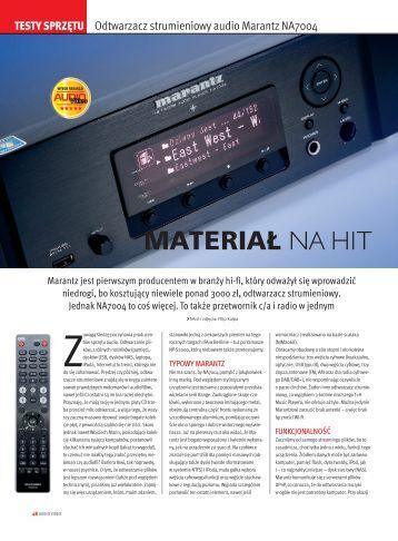 Test w magazynie Audio Video. - RMS.pl