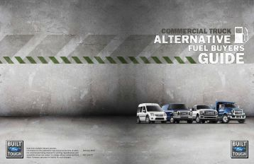 Commercial Vehicles Alternative Fuel Buyers Guide - Brien Ford Fleet