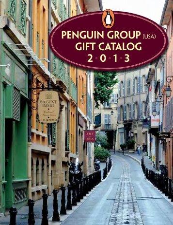 Penguin Group(USA) Gift Catalog 2 • 0 • 1 • 3 - Bookseller Services ...