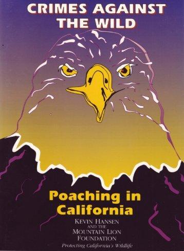 Crimes Against the Wild - Mountain Lion Foundation