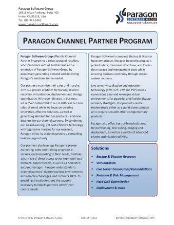 PARAGON CHANNEL PARTNER PROGRAM - Download ...