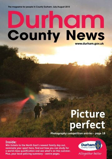 July/August 2010 - Durham County Council