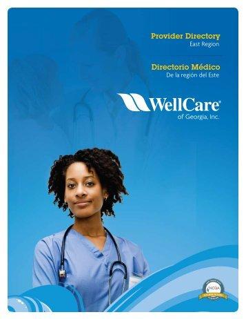 Provider Directory Directorio Médico - WellCare