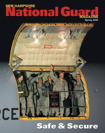 New Hampshire National Guard Magazine - Spring 2009