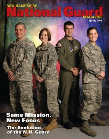 New Hampshire National Guard Magazine - Spring 2008 - Keep Trees